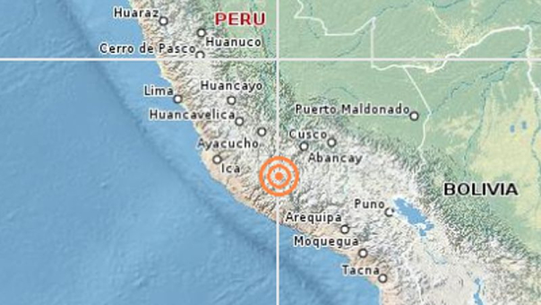 Sismo de magnitud 3,7 se registró en zona fronteriza Ecuador-Perú