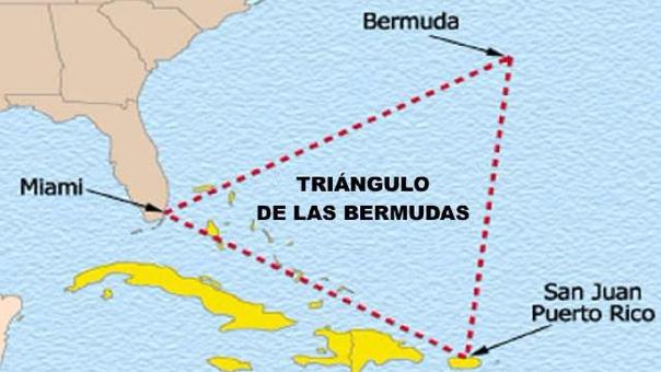 El Triángulo de las Bermudas se encuentra en el Océano Atlántico.