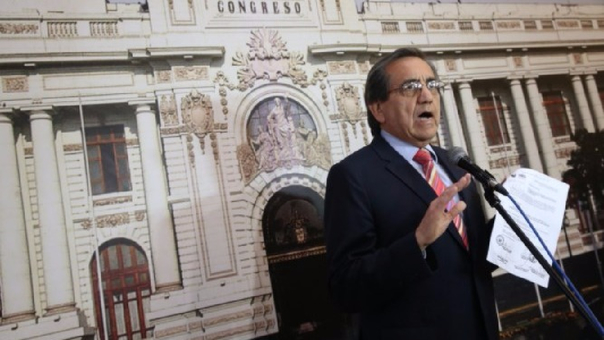 Jorge del Castillo, congresista de la Célula Parlamentaria Aprista.