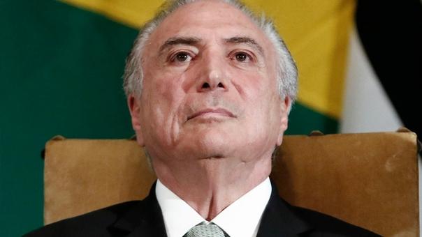 Michel Temer gobierna Brasil desde mayo del año pasado, cuando reemplazó a la suspendida (y luego destituida) Dilma Rousseff.