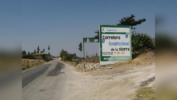 Obra permitirá una mejor transitabildiad entre Cochabamba – Cutervo - Chiple.