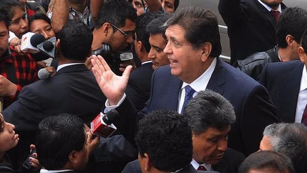 Alan García Pérez ha negado tener vínculos con la empresa Odebrecht.