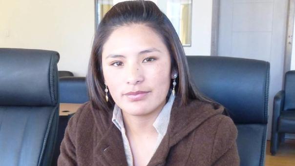 Consejera Zaida Ortiz, niega que su voz sea la que se escucha en el audio.