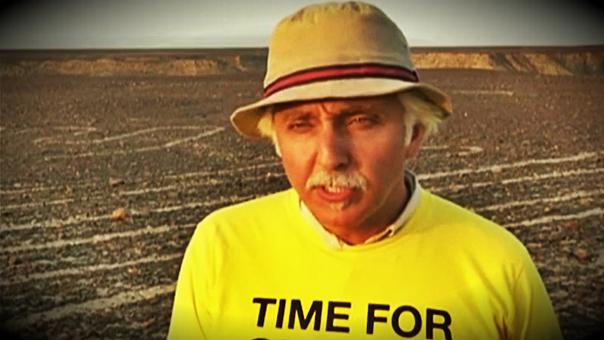 Líneas de Nasca: sentencian a activista de Greenpeace por dañar geoglifo