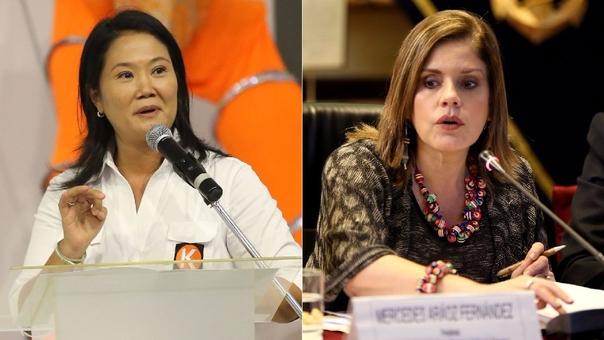 Keiko Fujimori postuló con Fuerza 2011, hoy Fuerza Popular, y llegó a la segunda vuelta. Mercedes Aráoz fue la candidata del Apra, entonces partido de gobierno, pero abandonó su candidatura a mitad de la campaña.