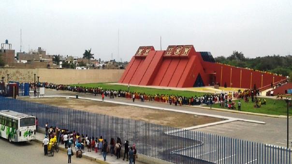 Mas de 9 mil personas visitaron museo Sipán