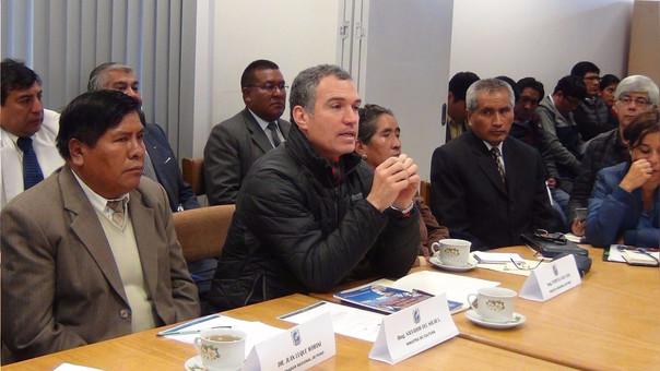 Reunión con el ministro de Cultura se realizó en las instalaciones del COER.