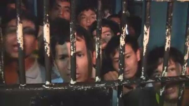 Se incrementa el hacinamiento de presos en el penal de Chiclayo