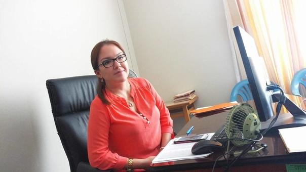 Directora de la RSPS Yuliana Meza.