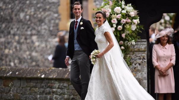 Pippa Middleton y James Matthews contrajeron matrimonio en la iglesia de St. Mark.