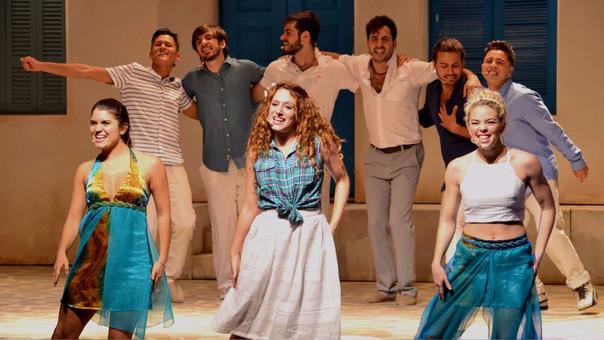 La primera temporada de Mamma Mia! convocó a más de 85 mil espectadores.