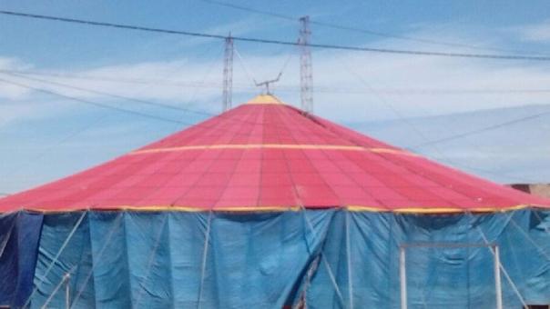 Circo Galaxy fue el blanco de los delincuentes