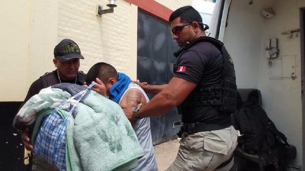 Internos llegaron a  recinto carcelario de Chiclayo