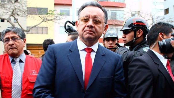 Contraloría rechaza amenazas contra Edgar Alarcón