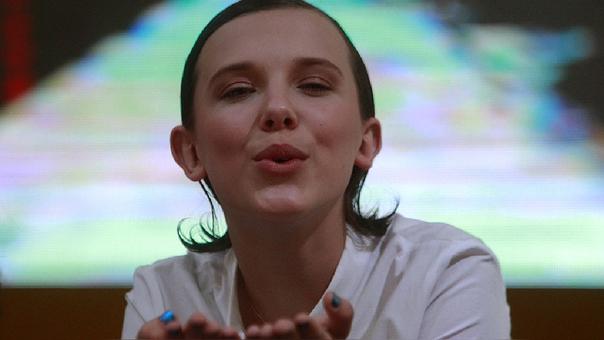 Millie Bobby Brown es la joven actriz que interpreta a 'Eleven' en la serie de Netflix