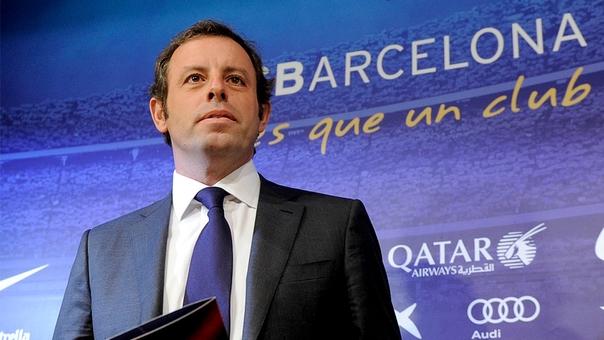 Expresidente del FC Barcelona, capturado por lavado de activos