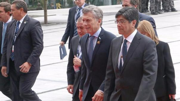 Presidente Kuczynski asiste a toma de mando de Lenín Moreno — Ecuador