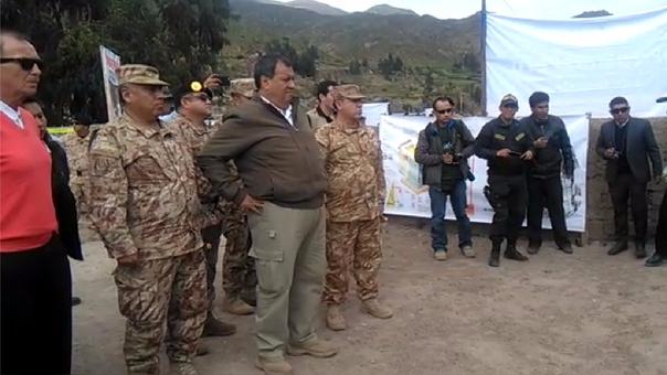 Ministro Nieto en Tacna