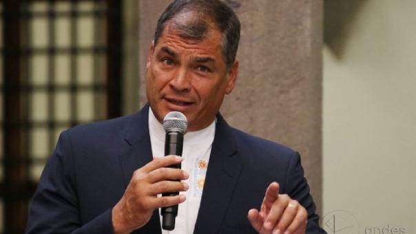 Rafael Correa fue presidente de Ecuador durante una década.