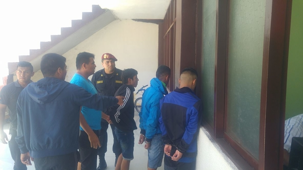 La policía detiene a banda dedicada a robabar grifos