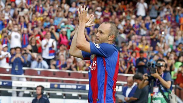 Messi se despidió de Luis Enrique y le deseó
