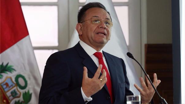 Edgar Alarcón, contralor general de la República.