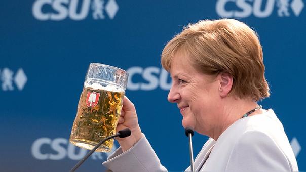 Merkel lidera Alemania y es una de las voces más poderosas en la Unión Europea.