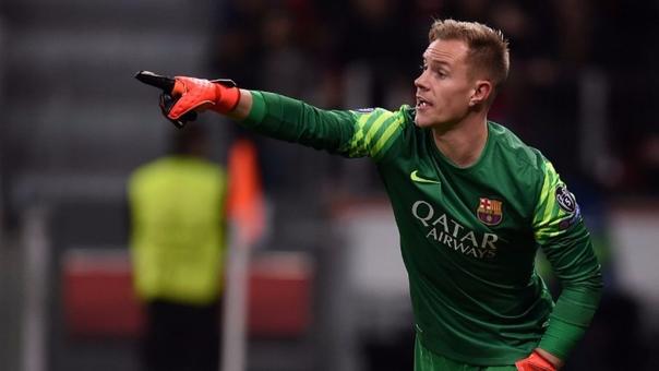 Barcelona conserva al portero alemán Ter Stegen hasta 2022