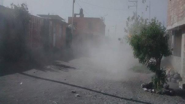 Fuertes vientos en Arequipa