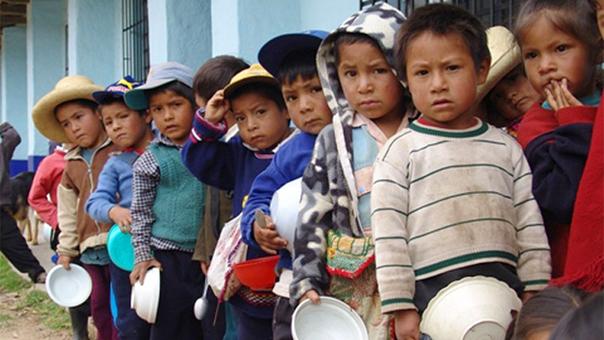 INEI reveló que 948 mil niños menores de cinco años tienen anemia en Perú, según la encuesta Endes 2016.