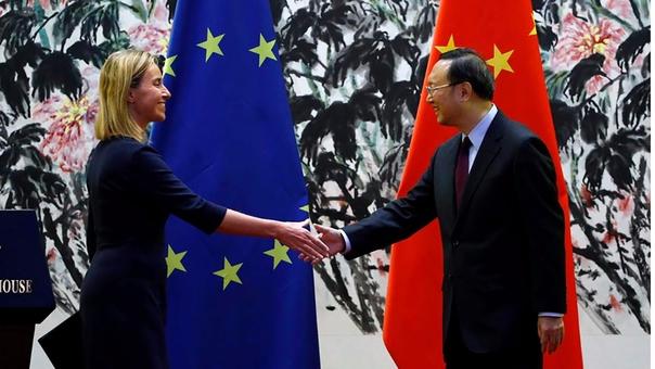 La Unión Europea y China se acercan en temas ambientales ante el aislamiento de Trump.
