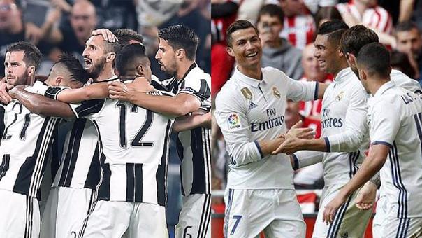 Juventus y Real Madrid