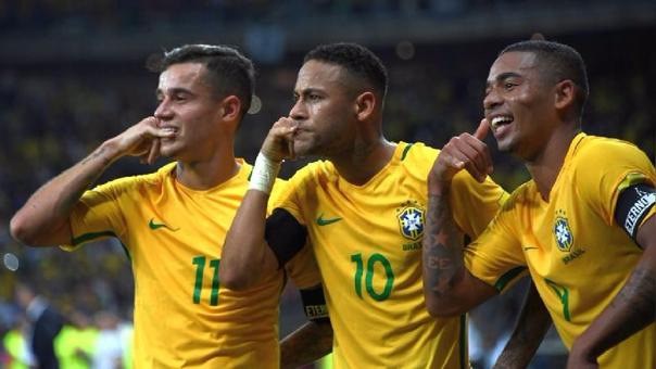La selección de Brasil lider el ránking FIFA y las Eliminatorias Sudamericanas para el Mundial Rusia 2018.