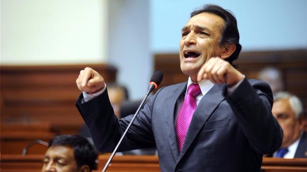 Héctor Becerril, congresista de Fuerza Popular.