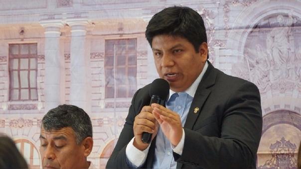 Parlamentario lambayecano, Marvin Palma