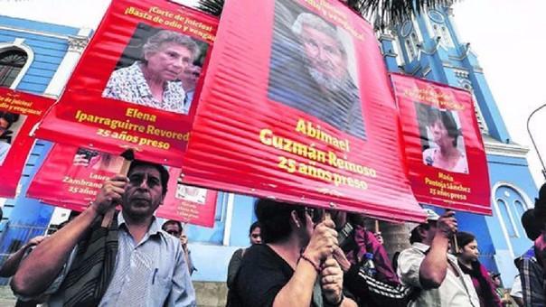 La denuncia de Movadef solicita la libertad de Abimael Guzmán y otros miembros de Sendero Luminoso, pues los consideran