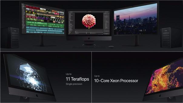 Apple presentó una versión más poderosa de su iMac.