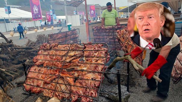 Los cocineros esperan que Trump pruebe la delicia huaralina.
