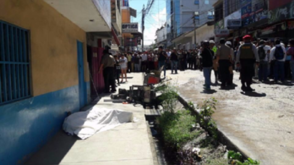 Tarapoto: murió sujeto que le prendió fuego a su expareja