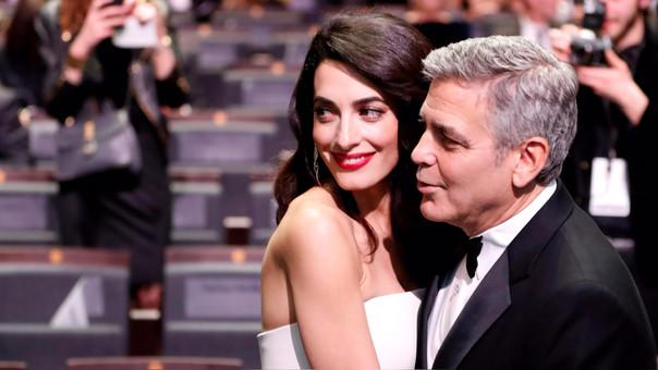 George Clooney se estrena como papá a los 56 años