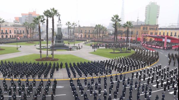 La Plaza Bolognesi será el escenario del acto de renovación del juramento de fidelidad a la bandera.