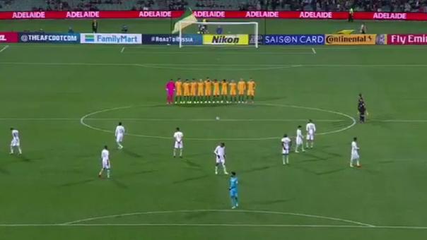 [VIDEO] El polémico minuto de silencio de la Selección de Arabia Saudita