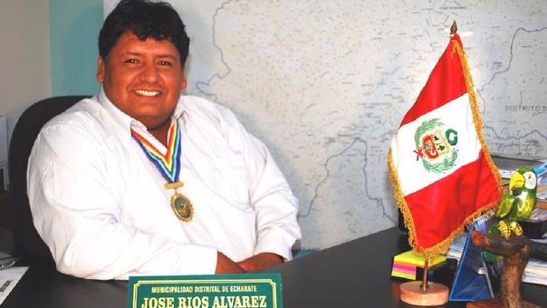 José Rios exalcalde de Echarate