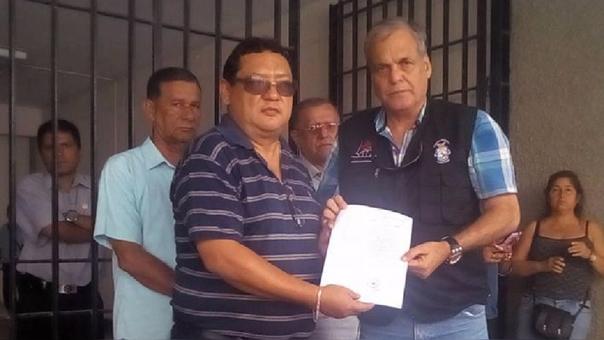 Rajiro Nakano con Rafael Aita