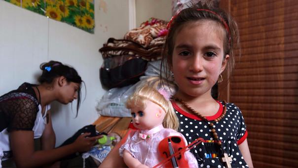 Milagroso retorno de una niña que pasó 3 años abducida por Daesh