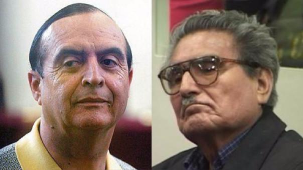 Vladimiro Montesinos y Abimael Guzmán