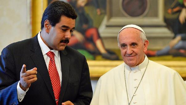 Maduro pedirá ayuda al Papa por violencia en Venezuela