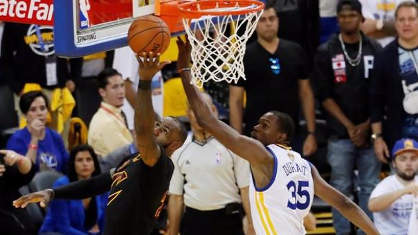 Durant fue uno de los mejores jugadores del encuentro.