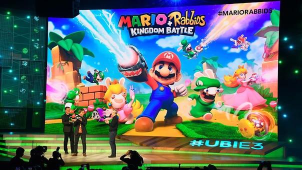 Mario se unirá a Rabbids de Ubisoft.