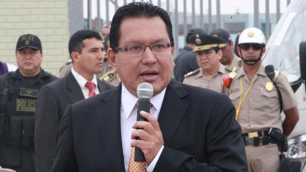 Félix Moreno, gobernador regional del Callao.